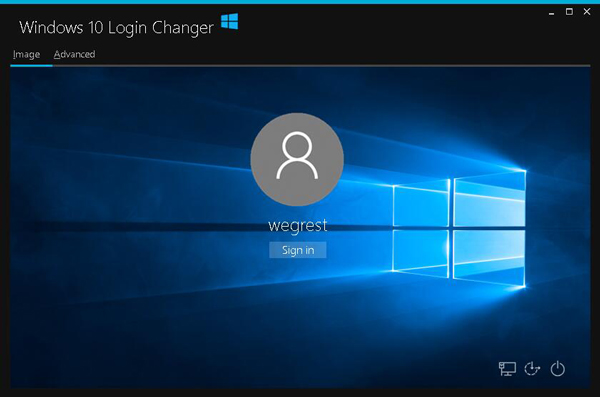 Windows 10 Login Changer