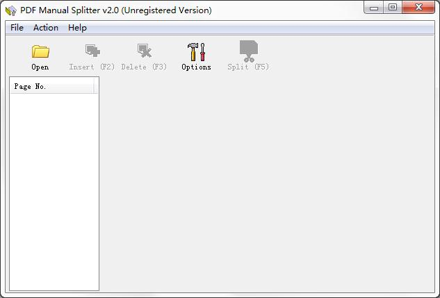 VeryPDF PDF Manual Splitter